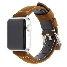 Apple Watch Bőrszíj Ezüstszínű órához